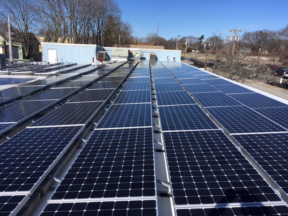 Commercial solar in Attleboro, MA
