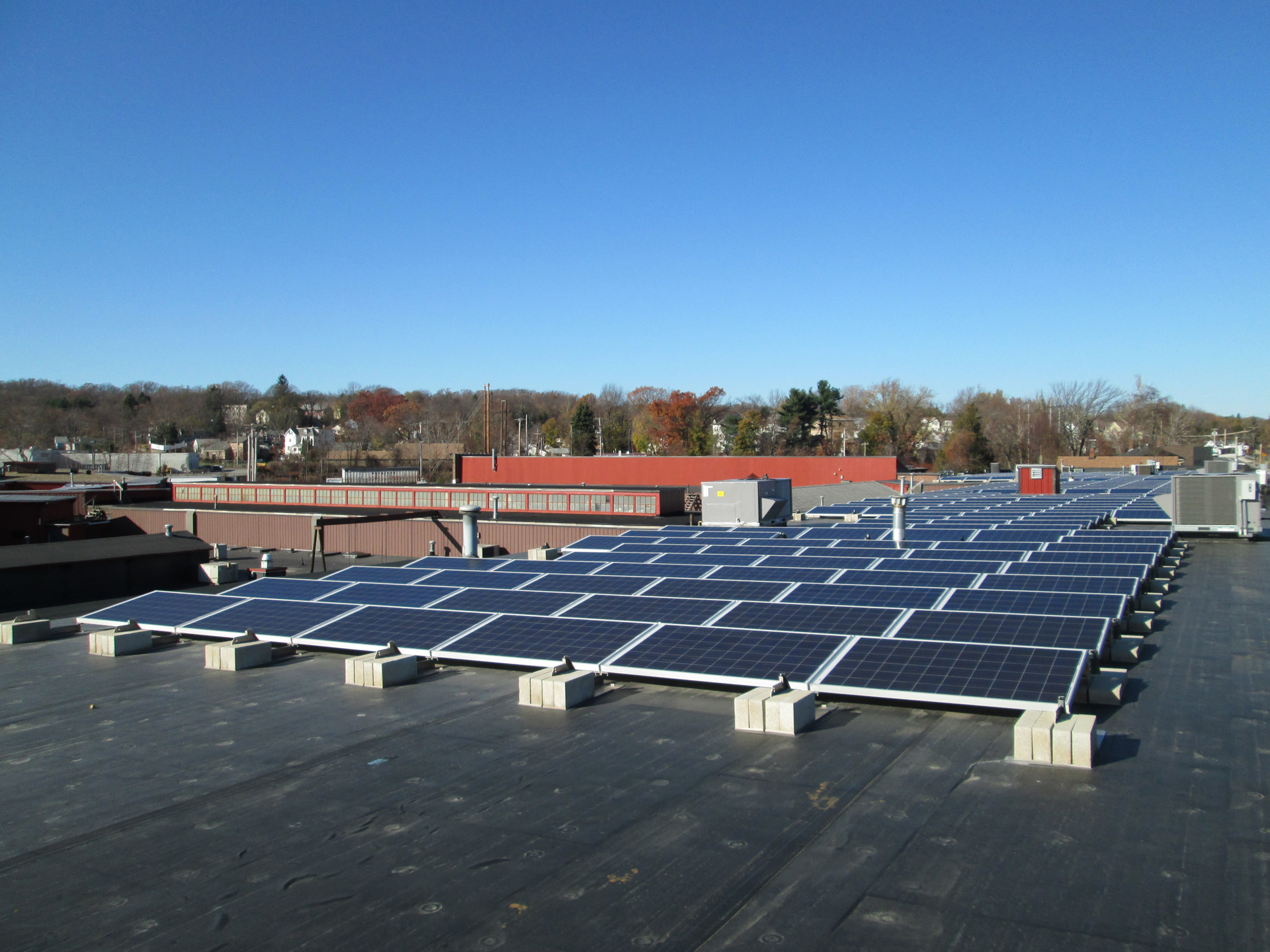 Commercial solar in Worcester, MA