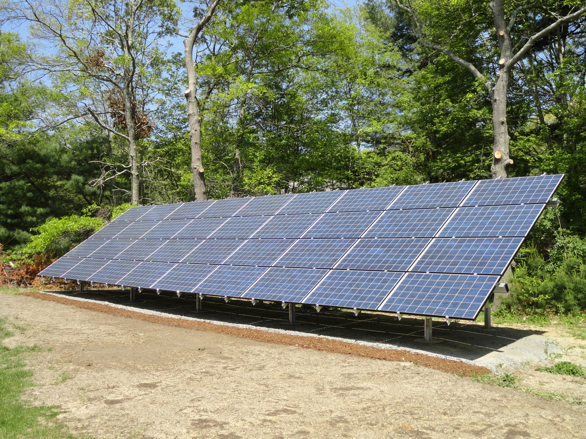 Ground mount solar in Rehoboth, MA